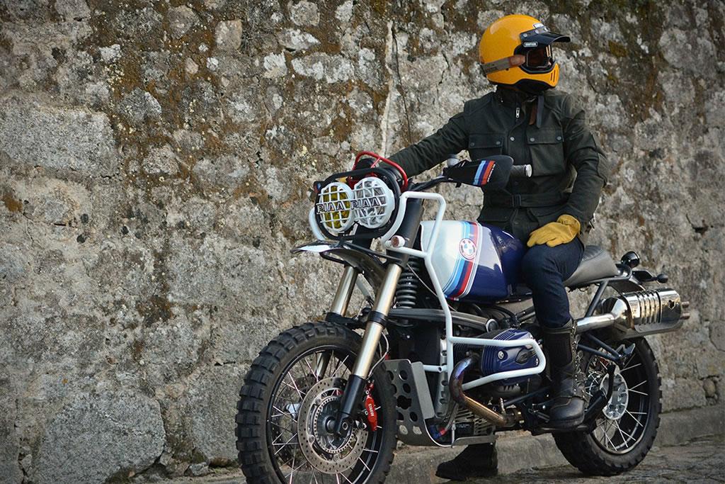 Ton Up Garage Creates A BMW GS Hunter 1200 Motorcycle 5
