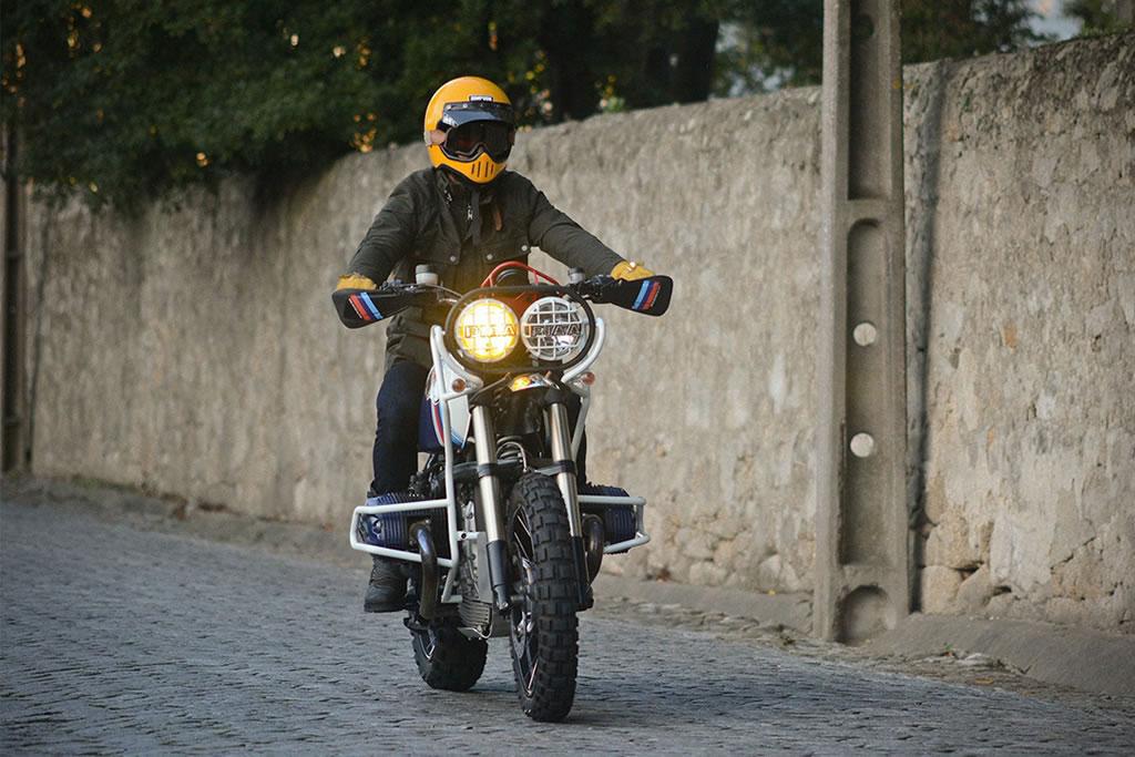 Ton Up Garage Creates A BMW GS Hunter 1200 Motorcycle 6