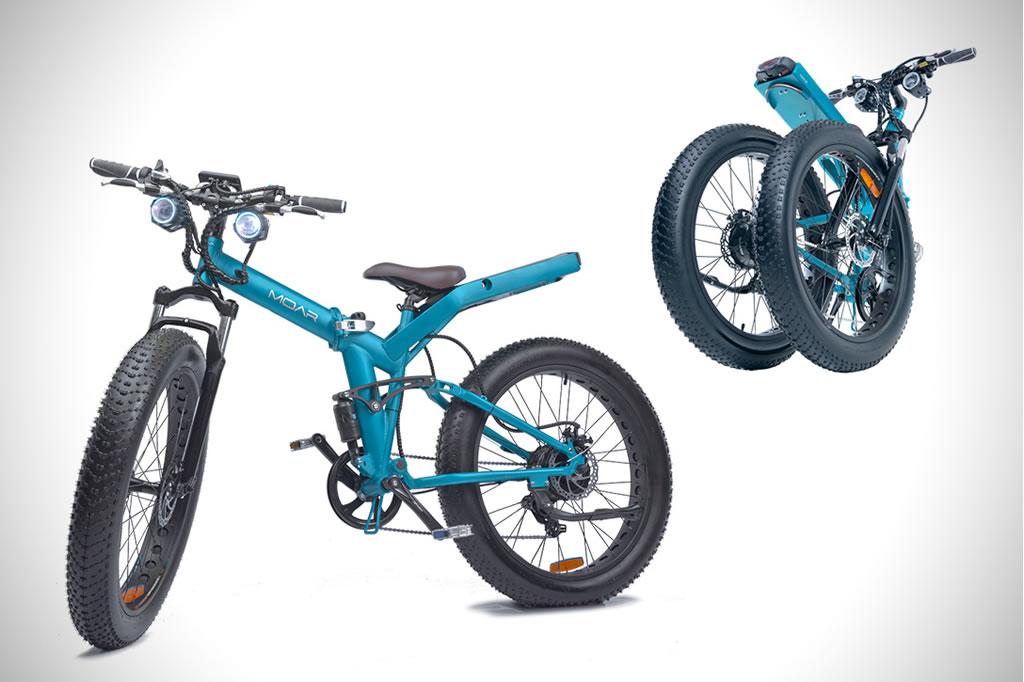 Versatile And Foldable MOAR eBike 1