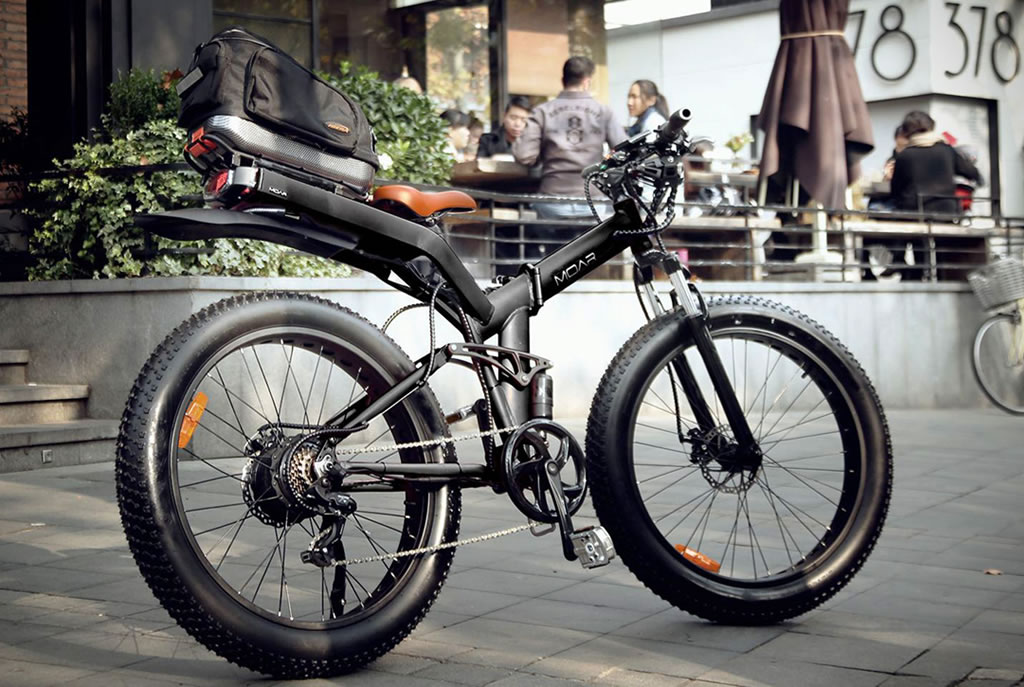 Versatile And Foldable MOAR eBike 2