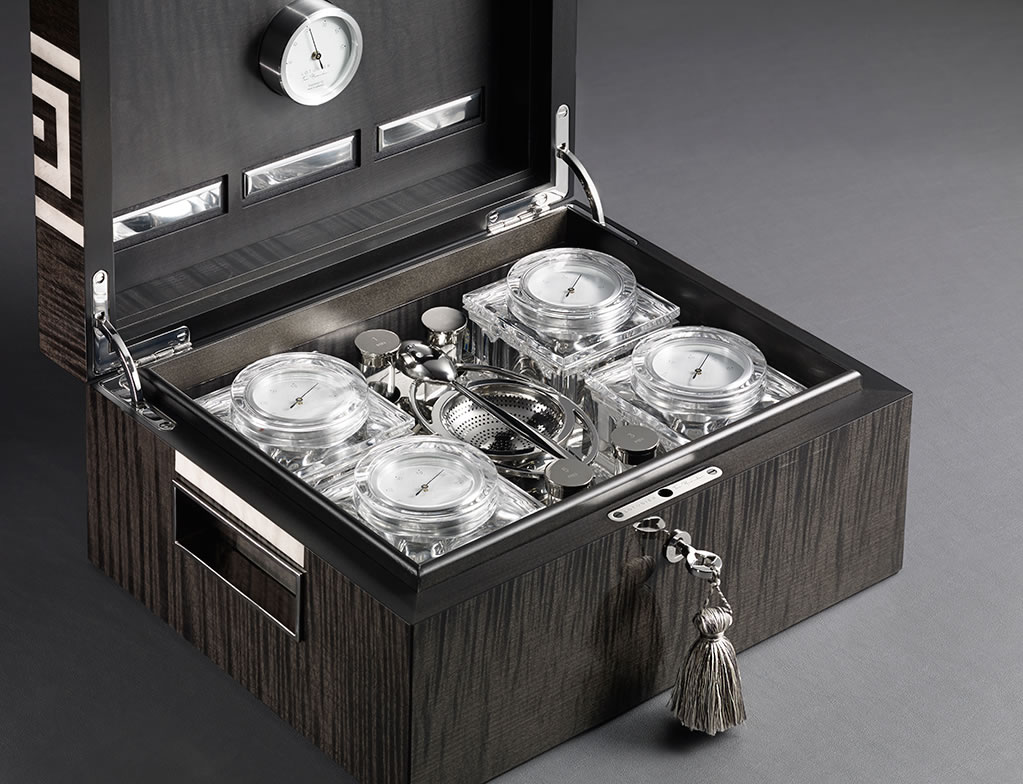 World's First Tea Humidor Is Mesmerizing 1