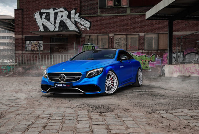 Beastly Mercedes-AMG S63 S Coupe By Fostla 1