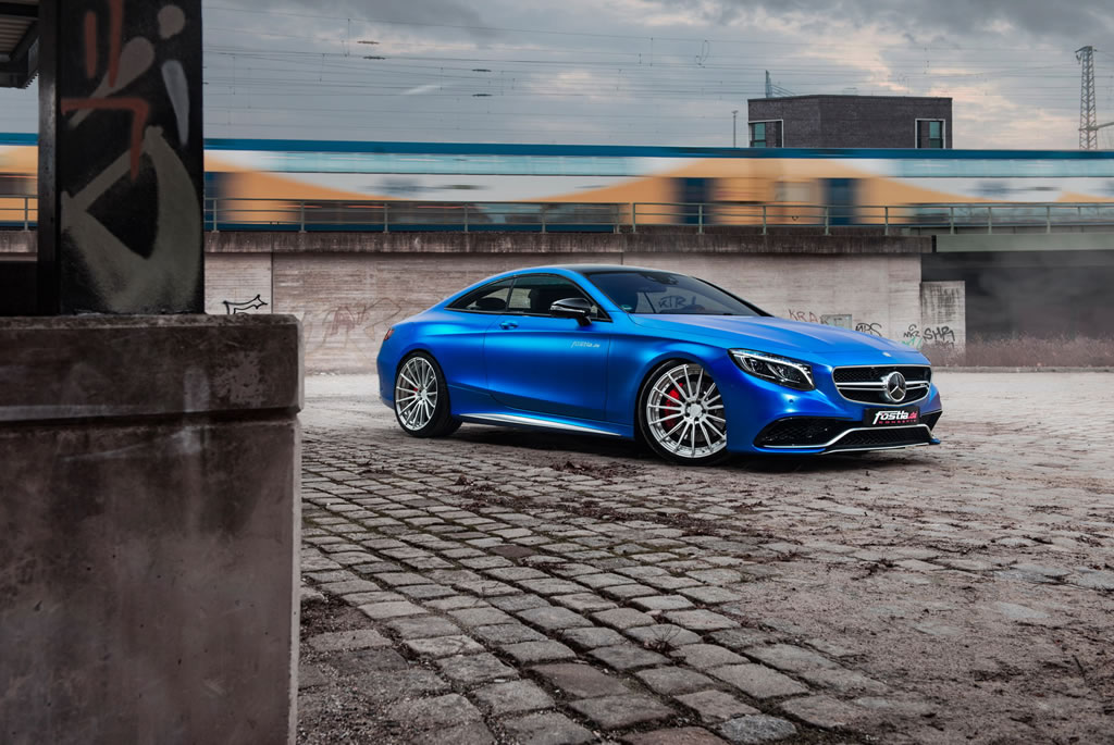 Beastly Mercedes-AMG S63 S Coupe By Fostla 3