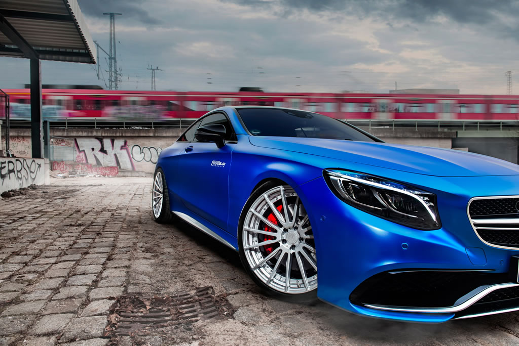 Beastly Mercedes-AMG S63 S Coupe By Fostla 4