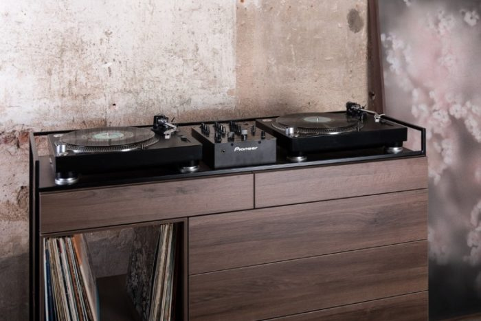 Elegant Selectors DJ Cabinet Now Comes In Walnut 1