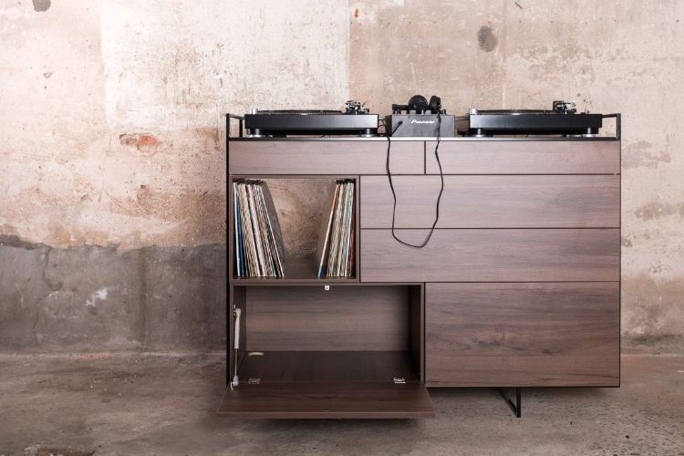 Elegant Selectors DJ Cabinet Now Comes In Walnut 10