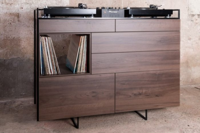 Elegant Selectors DJ Cabinet Now Comes In Walnut 2