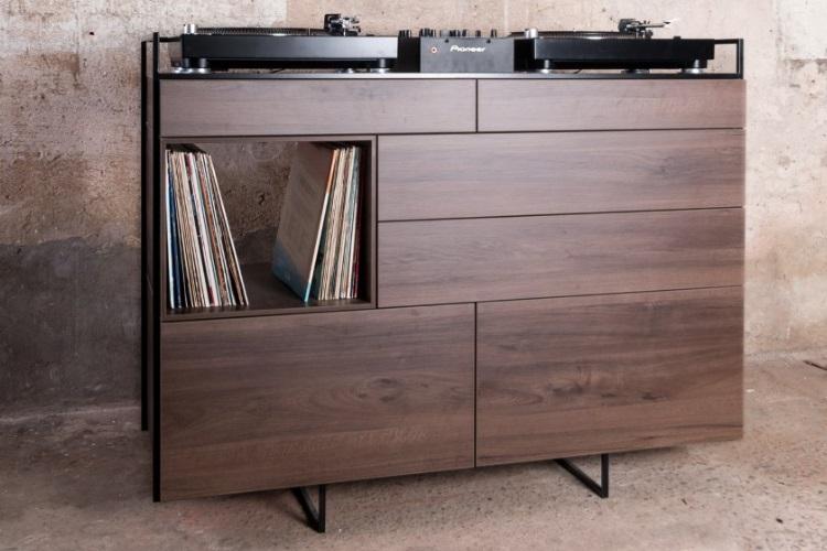 Elegant Selectors DJ Cabinet Now Comes In Walnut 2