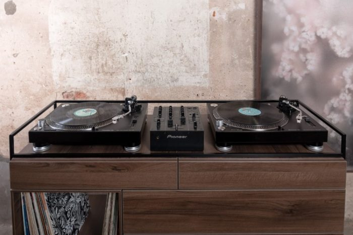 Elegant Selectors DJ Cabinet Now Comes In Walnut 3