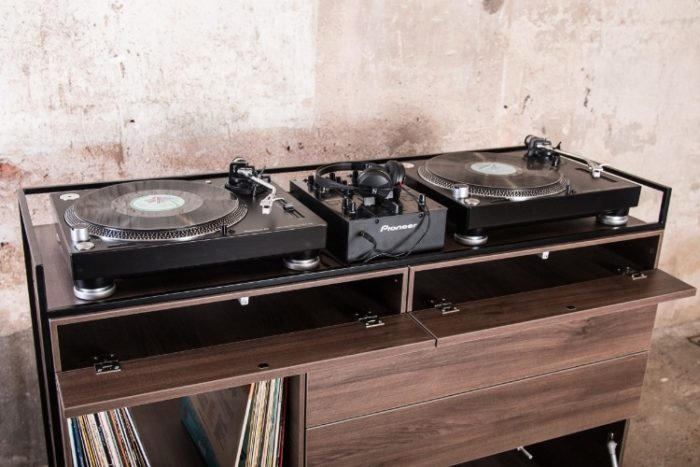 Elegant Selectors DJ Cabinet Now Comes In Walnut 4