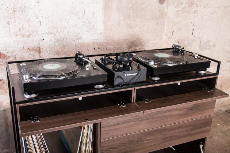 Elegant Selectors DJ Cabinet Now Comes In Walnut 4