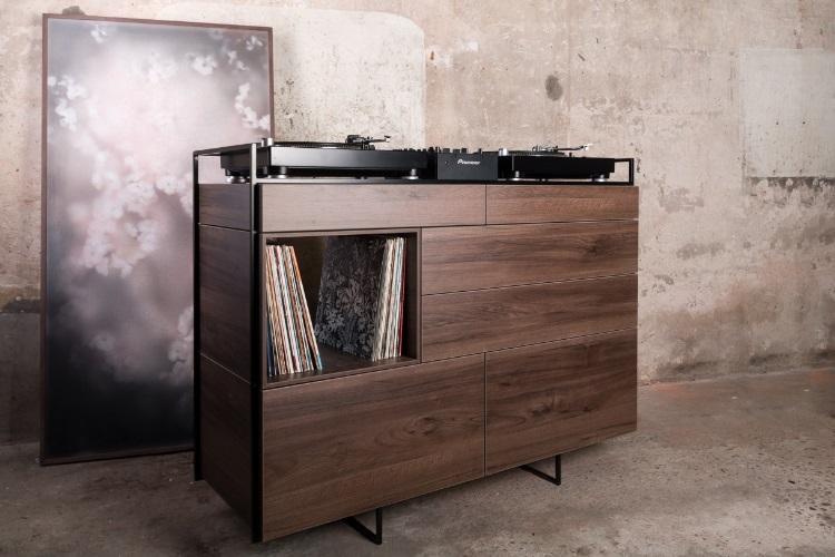 Elegant Selectors DJ Cabinet Now Comes In Walnut 6