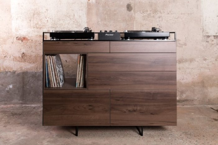 Elegant Selectors DJ Cabinet Now Comes In Walnut 8