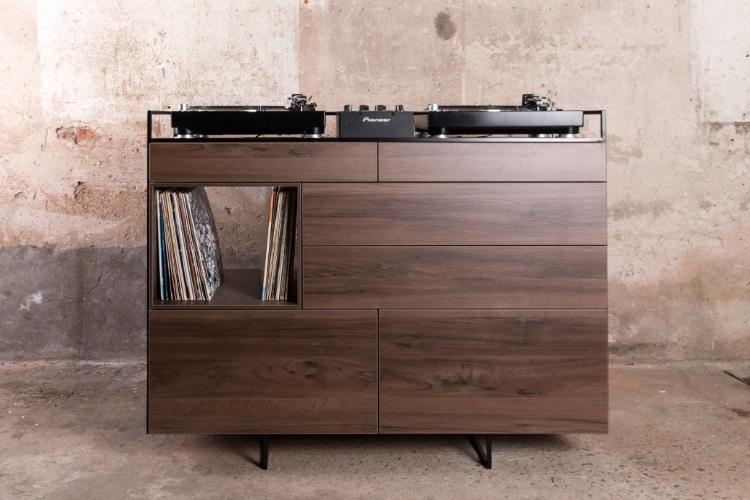 Elegant Selectors DJ Cabinet Now Comes In Walnut 8
