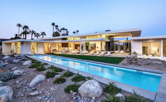 Gorgeous Home In Palm Springs By Cioffi Architect 16