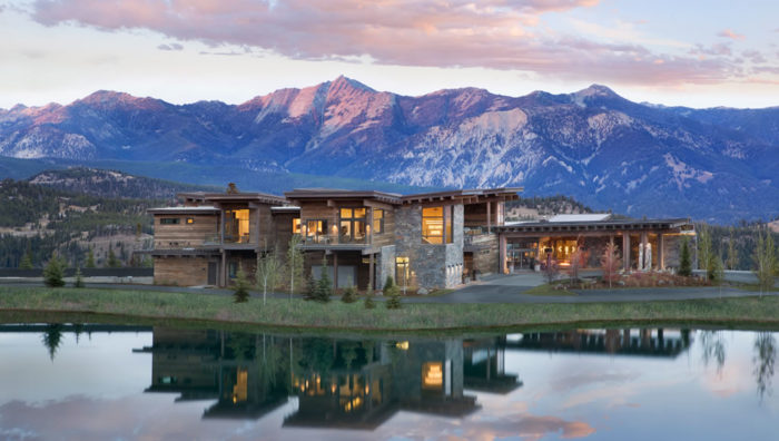 Lavish New Clubhouse By Montana's Yellowstone Club