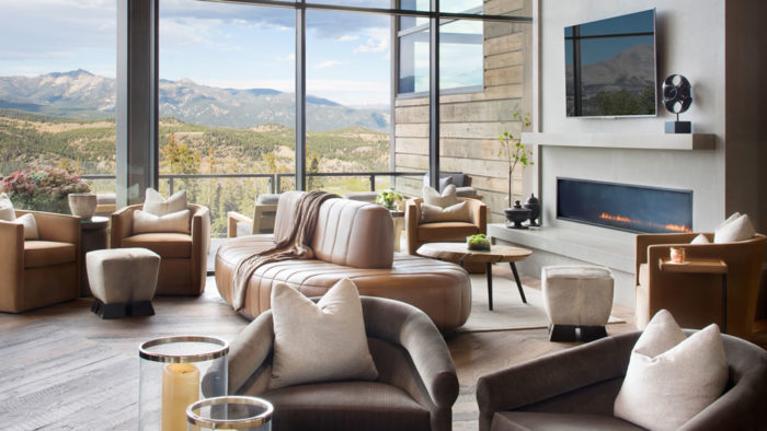 Lavish New Clubhouse By Montana's Yellowstone Club 11