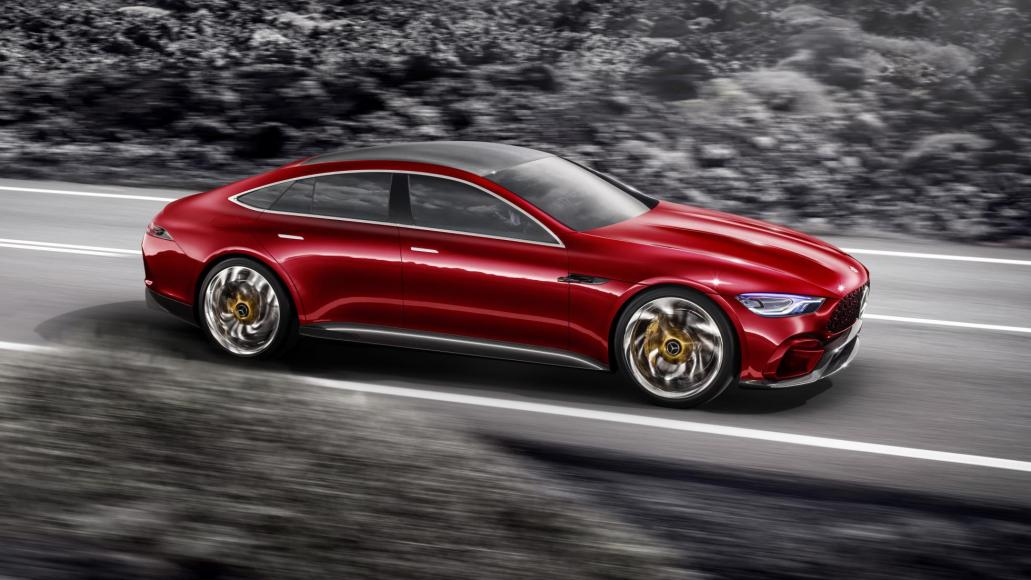 Mesmerizing Four-Door GT Concept By Mercedes AMG 1