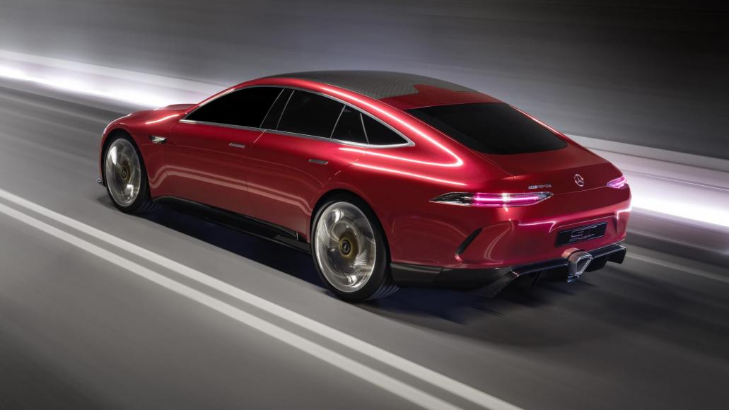 Mesmerizing Four-Door GT Concept By Mercedes AMG 2