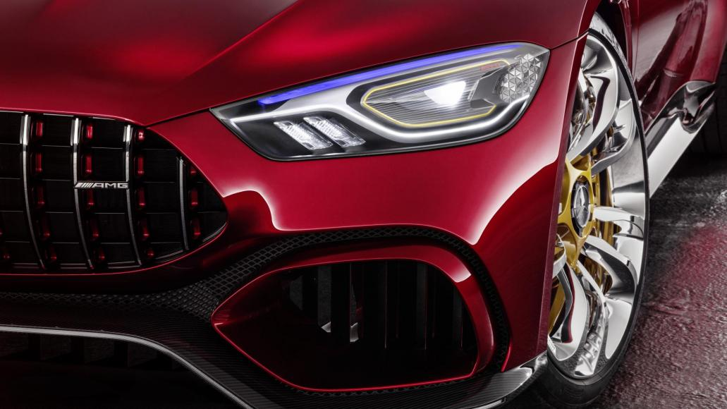Mesmerizing Four-Door GT Concept By Mercedes AMG 3