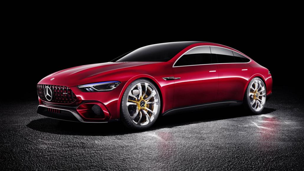 Mesmerizing Four-Door GT Concept By Mercedes AMG 7