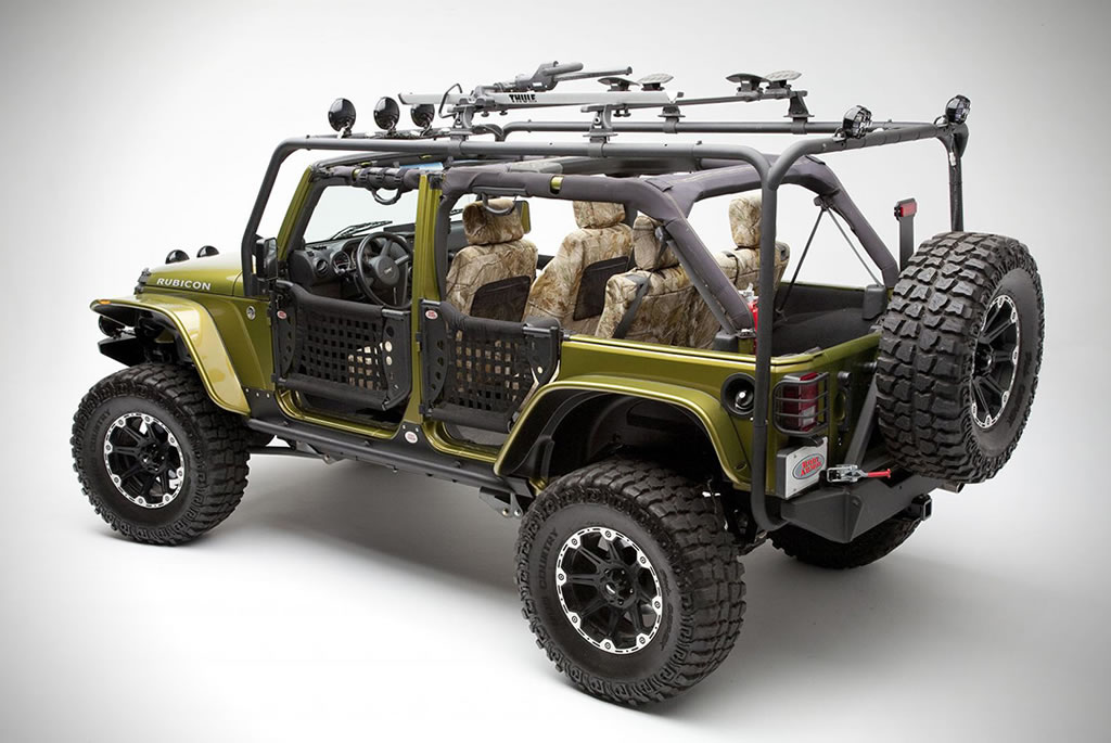 Off-Road Vehicle Upgrades By Body Armor 4x4 2