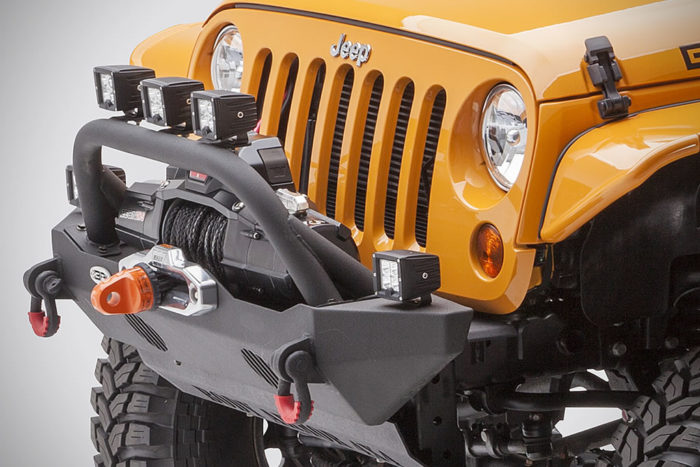 Off-Road Vehicle Upgrades By Body Armor 4x4 5