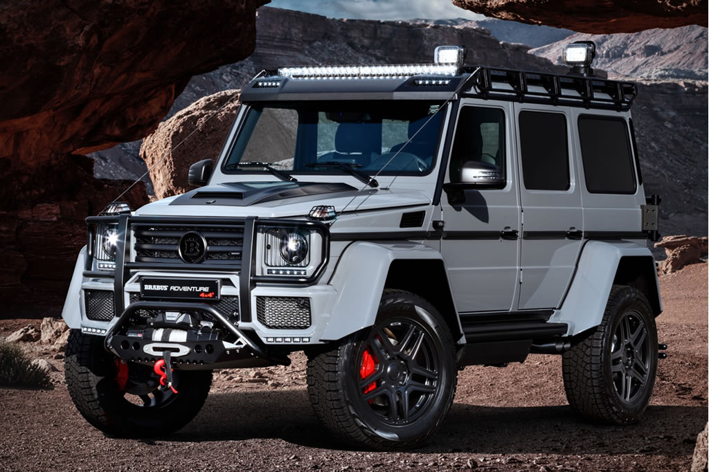 Phenomenal Brabus 550 Adventure 4×4² 1