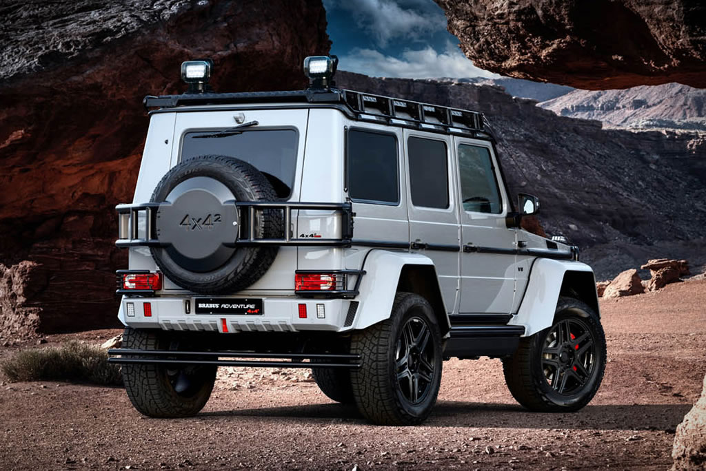 Phenomenal Brabus 550 Adventure 4×4² 2