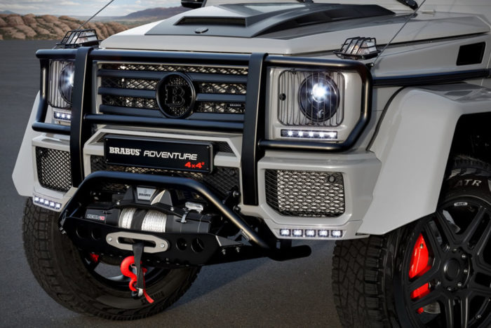 Phenomenal Brabus 550 Adventure 4×4² 3