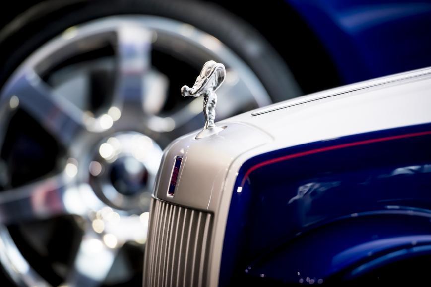 Rolls Royce Makes A Special Car Kid Sized Car For A Hospital 4