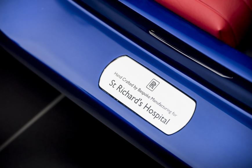 Rolls Royce Makes A Special Car Kid Sized Car For A Hospital 6