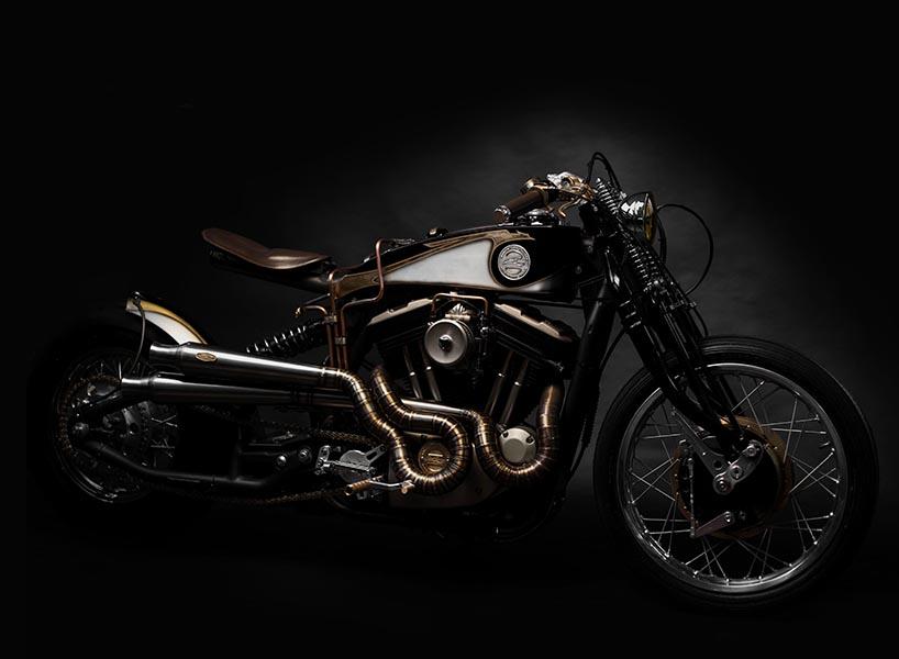 South Garage Harley Davidson Sportster 883 Opera 7