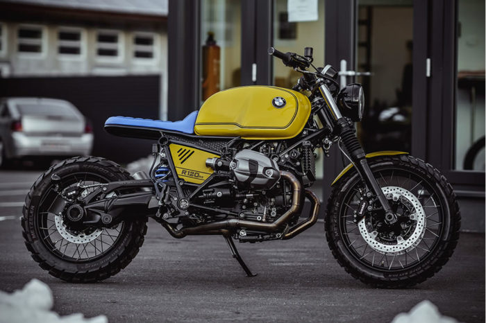 Superb Yellow Baron Motorcycle By NCT 1