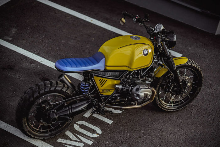 Superb Yellow Baron Motorcycle By NCT 2
