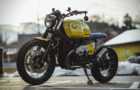 Superb Yellow Baron Motorcycle By NCT 3