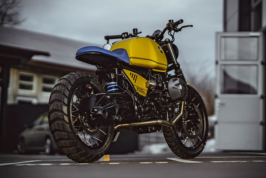 Superb Yellow Baron Motorcycle By NCT 5