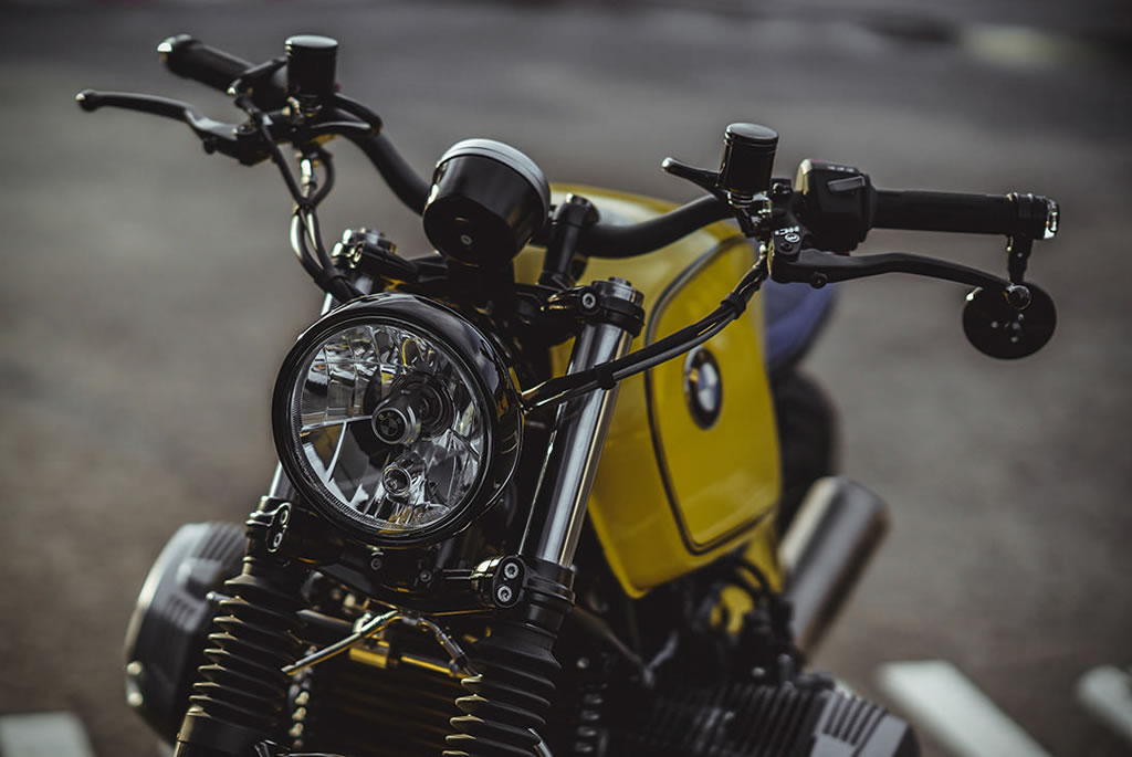 Superb Yellow Baron Motorcycle By NCT 6