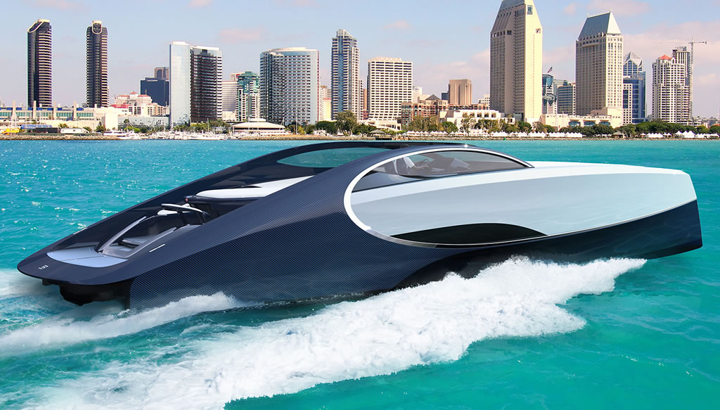 Bugatti Niniette 66 Yacht By Bugatti And Palmer Johnson 1