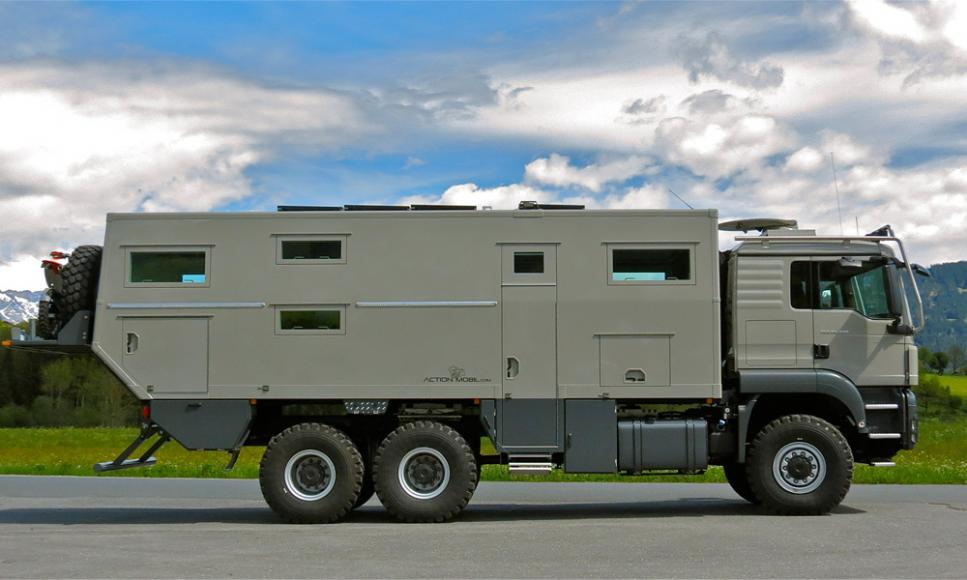 Home On Wheels Is The Ideal Zombie Outbreak Shelter 1