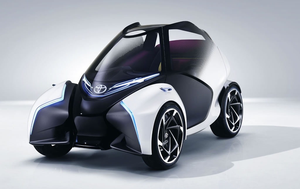 The Toyota i-TRIL Concept Car 1
