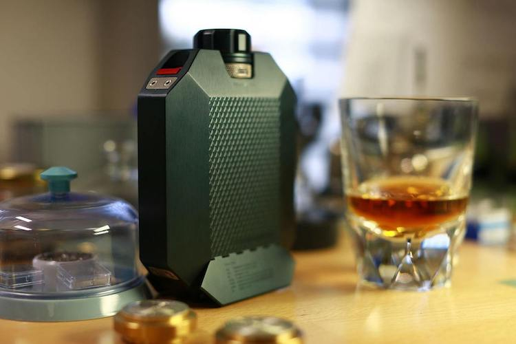 Tough And Elegant Macallan x URWERK Flask 1
