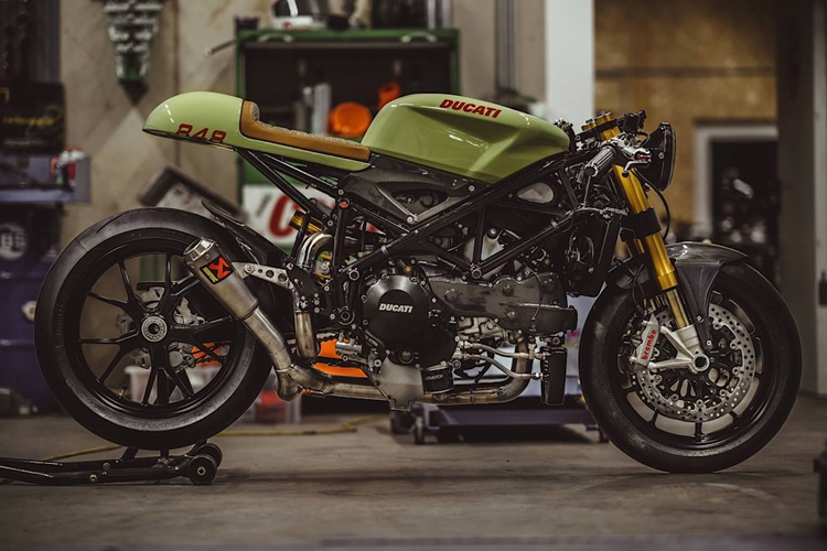 Ducati 848 Evo Racer By NCT Motorcycles 1