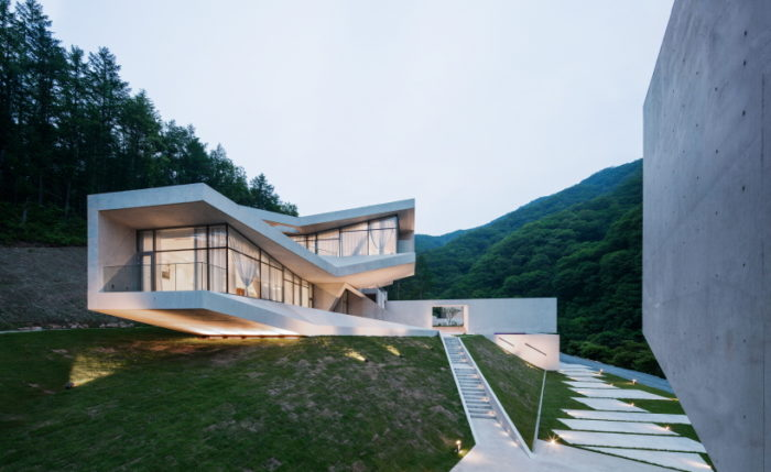 Fabulous Modern Home In Hongcheon, South Korea 12