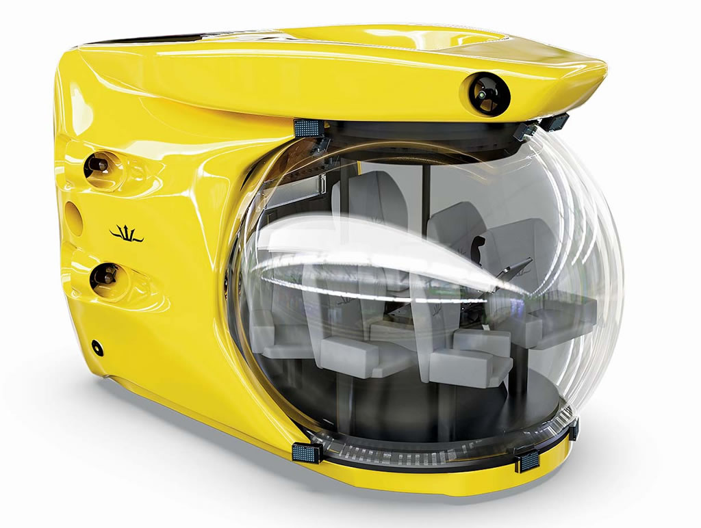 The Triton 10007 Submersible Is Compact Yet Spacious