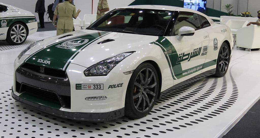 Nissan GTR Dubai Police Car -