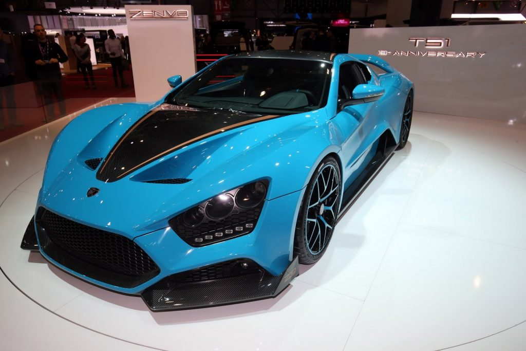 Gorgeous Zenvo TS1 GT Anniversary Model 1