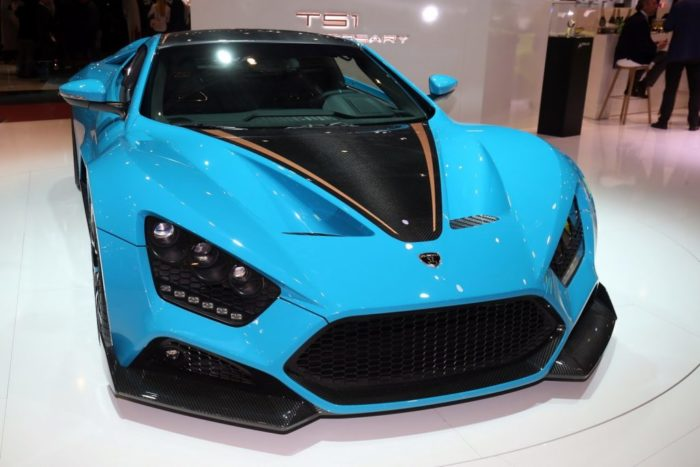 Gorgeous Zenvo TS1 GT Anniversary Model 2