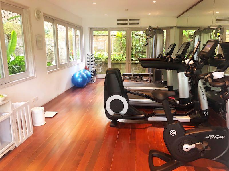 Como Uma gym, Ubud, Bali