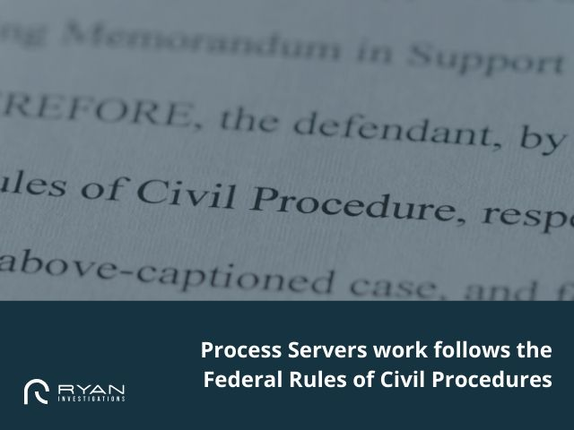 Federal Rules of Civil Procedures